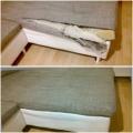Oprava- zašití roztržené sedačky