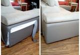 Oprava roztržené sedačky přímo u vás doma bez odvezení