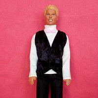 Svatební oblek pro Kena - Svatební oblek barva černá